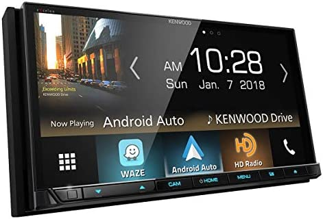 Kenwood DDX8905S 6.95 WVGA double-DIN Multimedia DVD Receiver