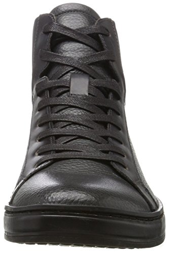 Top Cole Men's Boot York Dark New In Sneaker Kenneth Leather Grey Pebbled High wpdqwI