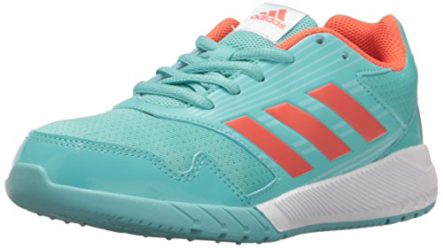 adidas Kids' Altarun Running Shoe, Easy Mint/Easy Coral/Ocean, 5 M US Big Kid