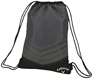 Amazon.com : Callaway Sport Drawstring Shoe Bag : Golf Shoe Bags ...