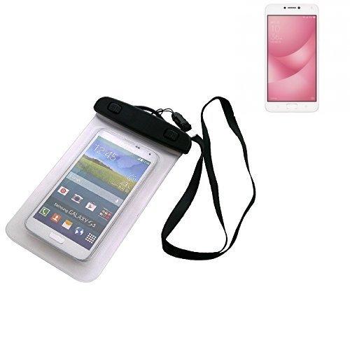 Custodia Cellulare Impermeabile Universale Pollici Waterproof Cover Case per Asus ZenFone 4 Max 5.5 Zoll. Universale Beach Bag / parapioggia / manto nevoso 16 centimetri x 10 centimetri - K-S-Trade(TM