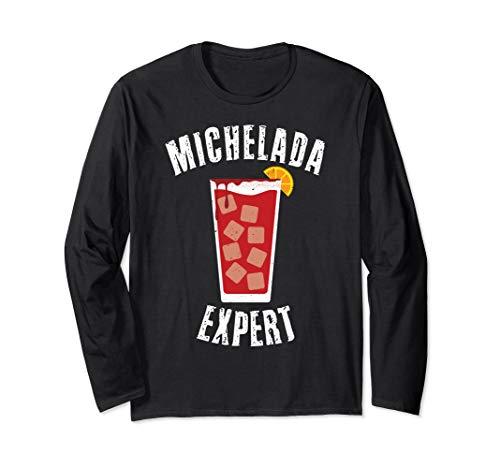 Michelada Mexico Beer Micheladas Cinco De Mayo Cerveza Party Long Sleeve T-Shirt