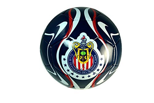 Chivas De Guadalajara Soccer Authentic Official Licensed Soccer Ball Size 4 -002 by RHINOXGROUP