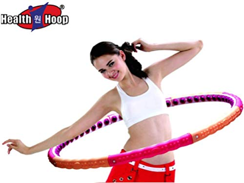 Health Hoop -Passion Magnetic Hula Hoop for Workout Step 3 - (2.2kg) (42.5 inch Wide) Exercise,Fitness