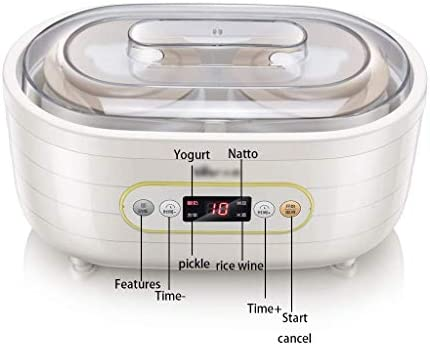 WLGQ Machine à yogourt Maison, Petit Fabricant Automatique de Yaourt Biologique, Multifonction, Kimchi, Machine de Fermentation, Fabricant de natto Domestique