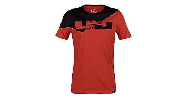 77a133541 Nike Boy  s Lebron Logo Camiseta  Amazon.es  Deportes y aire libre