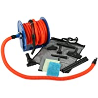 Cen-Tec Systems 99680 50-Feet Premium Garage Vacuum Kit with Hose Reel