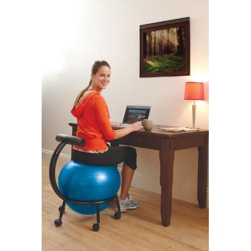Gaiam Adjustable Custom Fit Balance Ball Tiendamia Com