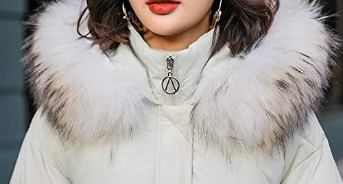 Mode De Chaud Et Fourrure Ample Coton White Capuchon Les Manteau vent l X La Col Coupe Femmes Large amp;jy green En Pour Avec Hiver Ow8Ycq6E