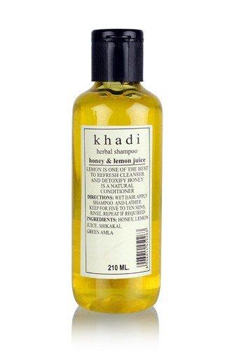 Khadi Herbal Shampoo with Honey & Lemon Juice - 210 ml