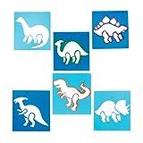 Baker Ross Dinosaur Stencil Set for Arts and Crafts