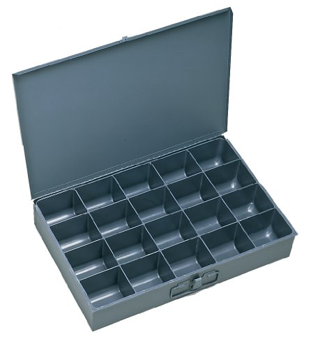 Extra Large Parts Storage Box - Durham 111-95-IND Gray Cold Rolled Steel Individual Large Scoop Box, 18
