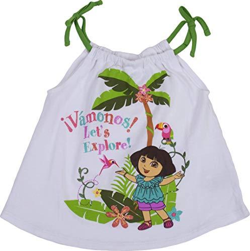 (Dora The Explorer Vamonos Let's Explore Toddler Set White )