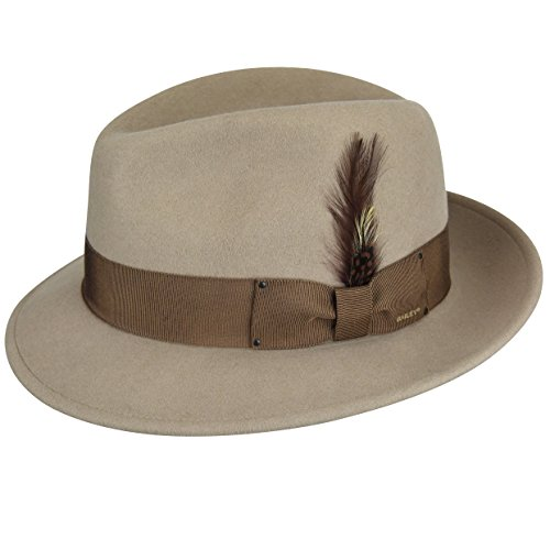 Bailey Hat Hats Wool - Bailey of Hollywood Men's Blixen Hat, Silver Belly XL