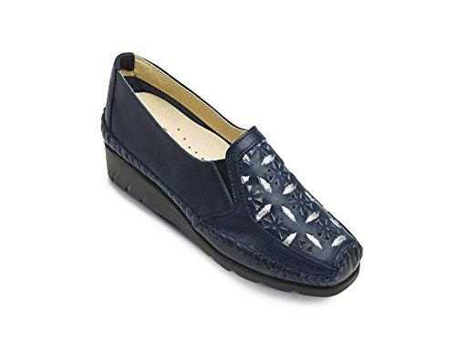 Luxat Emfort, Mocassins Femme, Bleu (Bleu Jeans), 37 EU …