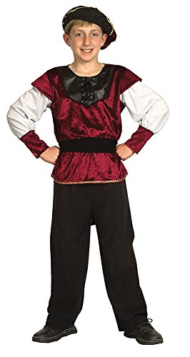 Bristol Novelty Renaissance Prince Costume (XL) Age 9 - 11 Years