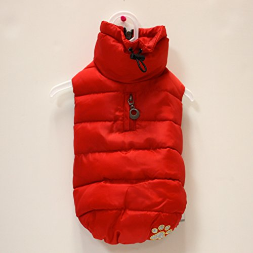 Alpha Dog Series Parka Vest (5XL, Red) by Alpha Dog Series