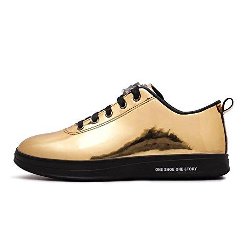 Scarpe Shufang Stringate Gold Uomo shoes RxaxwqS0