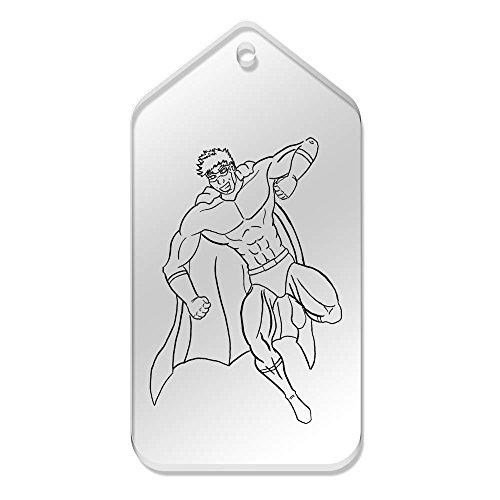 Etichette Big 'supereroe' 99 10 51 trasparenti tg00023368 da mm Azeeda X IRASSf