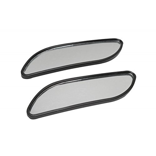 """Original CAR+ Wide angle, blind spot mirror, 2 pieces. 4.76"""" x 1.38"""". Easy installation, extreme weather resistant."""