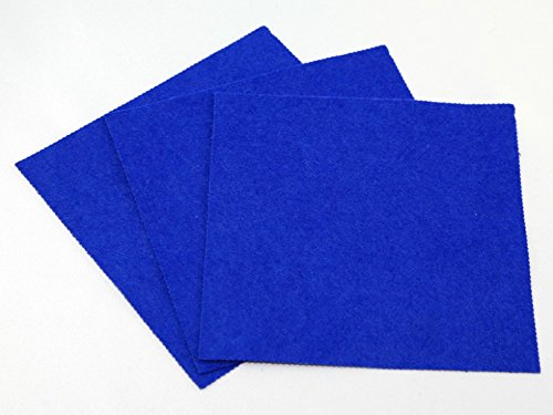 Sticky Back Self Adhesive Acrylic Felt Fabric 9' Square - per pack of 2 Minerva Crafts