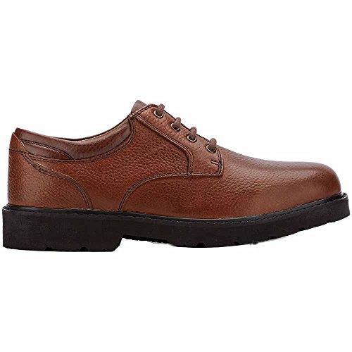 Dockers Shelter - Zapatos de cordones para hombre Beige Dark Tan Dark Tan Full Grain Leather
