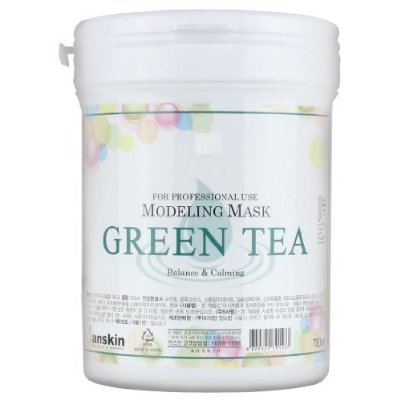 (700ml Modeling Mask Powder Pack Green Tea for Soothing and Anti Oxidation by anskin)