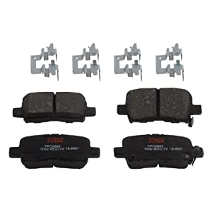 TRW TPC0865 Premium Ceramic Rear Disc Brake Pad Set