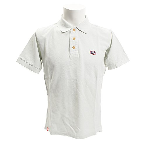 ロサーセン ゴルフウェア ポロシャツ 半袖 メンズ オーバーダイカノコ 044-27240 11ライトグレー 52(O)