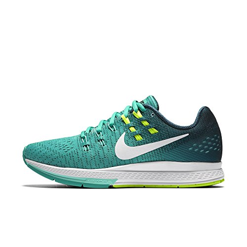 the latest 16ef7 cc1e4 NIKE Womens Air Zoom Structure 19 Running Shoe (6 B US, Clear  Jade/White/Mid Turquoise/Hyper Turquoise)