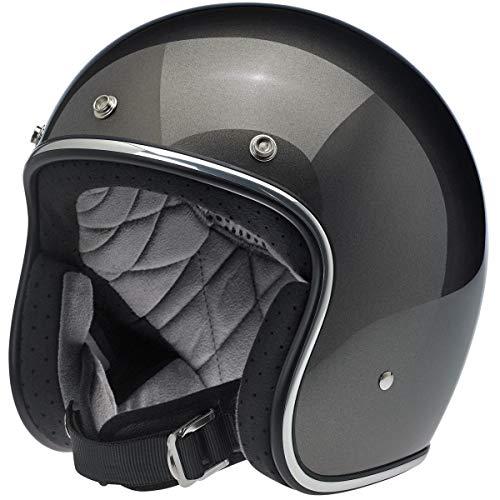 (Biltwell Unisex-Adult Open face Bonanza 3/4 Helmet (Bronze Metallic,)