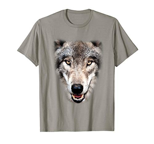 Real Wolf Head Costume Awesome Easy Animal Halloween Gift