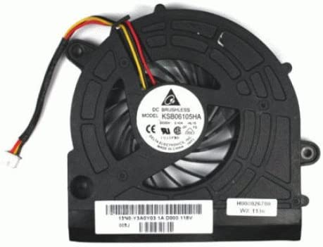 FixTek Laptop CPU Cooling Fan Cooler for Toshiba H000026650