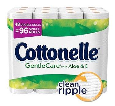 (Cottonelle Gentle Care Bath Tissue (204 sheets, 48 pk.))