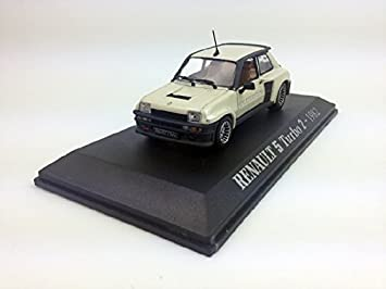 UH 1:43 Renault 5 Turbo 2-1982 Diecast Metal Model, Box damage
