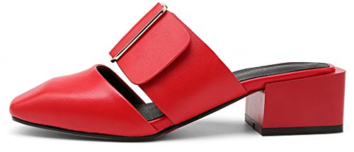 Caswing Mules pour Calaier Red Femme O5qwAwdxC