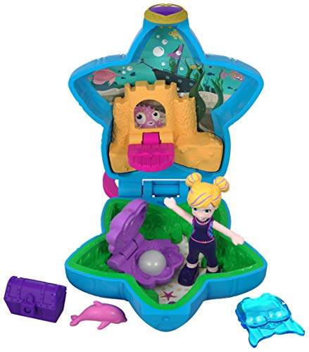 (Polly Pocket Tiny Pocket World, Polly & Dolphin )