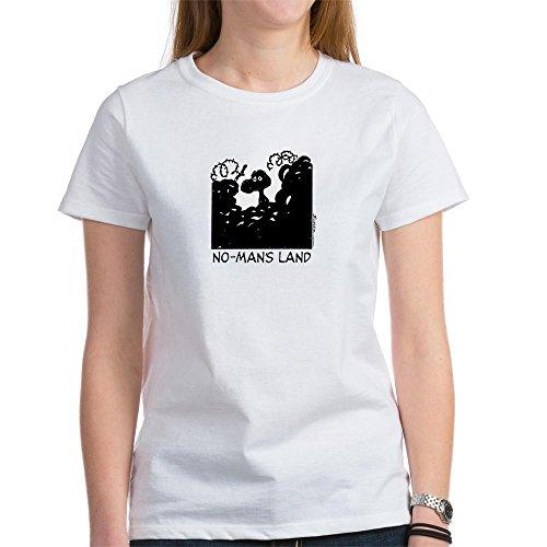 CafePress - No-Man's Land - Womens Cotton T-Shirt, Crew Neck, Comfortable & Soft Classic Tee