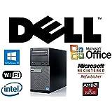 Gamer 4GB HDMI AMD Radeon HD7670 Intel Quad Core i5 3.2GHz Windows 10 Pro / 8GB RAM/New Huge 1TB Solid State Drive SSD/WiFi/Desktop Computer