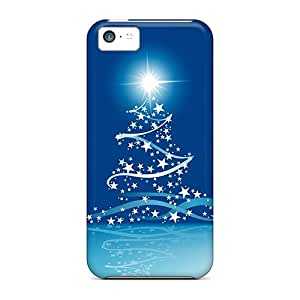 Case Cover Christmas Tree/ Fashionable Case For Iphone 5c