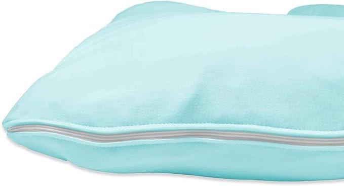 Betty Dain Stretch Jersey Pregnancy//Maternity Pillowcase C-Shape Compatible Blue