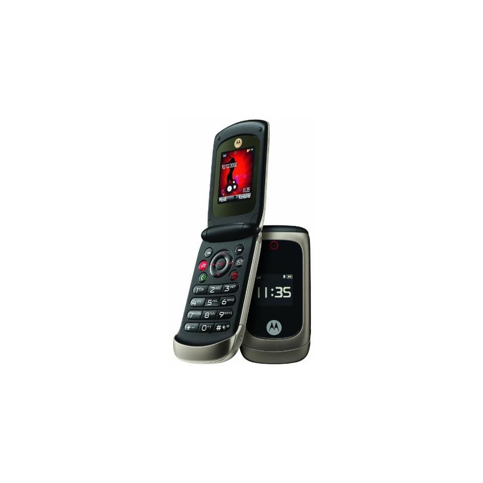 Motorola EM330 Unlocked GSM Cell Phone with 1.3MP Camera, FM Radio,  Player and Bluetooth   Black