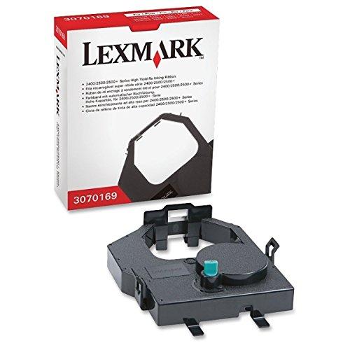 Lexmark International, Inc 3070169 Re-Inking Printer Ribbon, Hi-Yield, Black