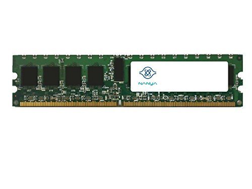 Pc 3200 Ddr2 Ecc Module (NANYA NT2GT72U4NA0BV-5A 2GB SERVER DIMM DDR2 PC3200(400) REG ECC 1.8v 2RX4 240P 256MX72 128mX4 CL3 8)