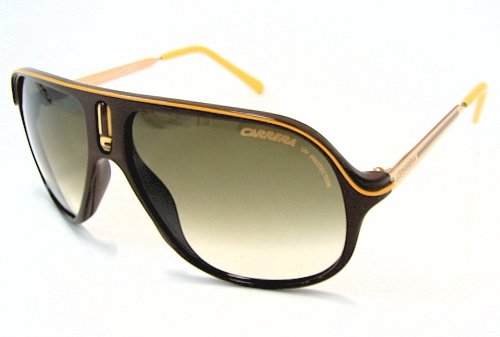 221cfcb786fa Image Unavailable. Image not available for. Colour: CARRERA SAFARI/A  Sunglasses SAFARIA Brown/Yellow G16-DB Shades