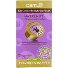 CBTL Hazelnut Coffee Light Capsules By The Coffee Bean & Tea Leaf, 16-Count Box