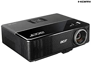 Acer P1166P - Proyector (2700 lúmenes ANSI, DLP, SVGA (800x600), 3000 h, 180 W, P-VIP)