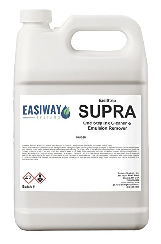 Easiway Supra Ink and Emulsion Remover for Screen Printin...