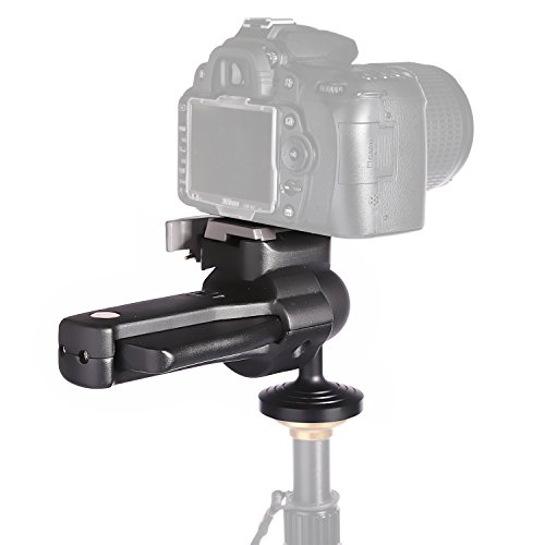 pangshi¨ Grip Action Ball Handle Tripod Head with Quick Release Plate