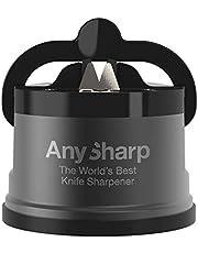 AnySharp Pro Messenslijper (Metaal) met Zuignap, Geweer Metaal